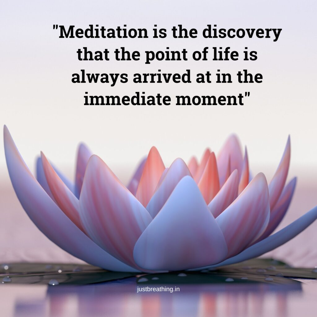 Caption And Best Quotes On Meditation Ever