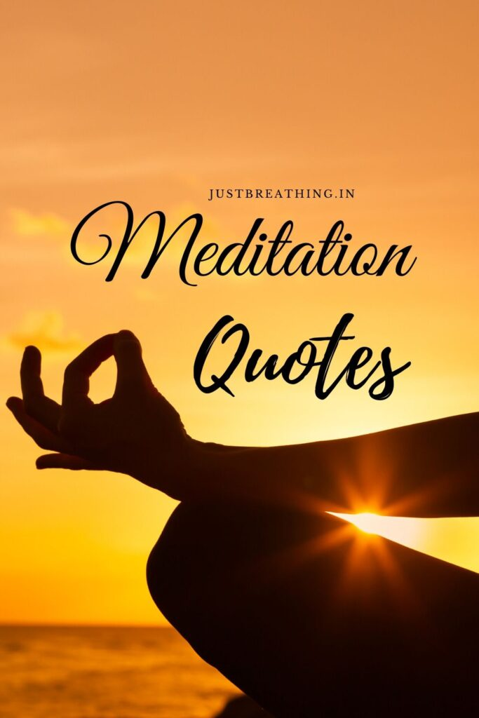 Captions - Best Quotes and Thoughts on Meditation