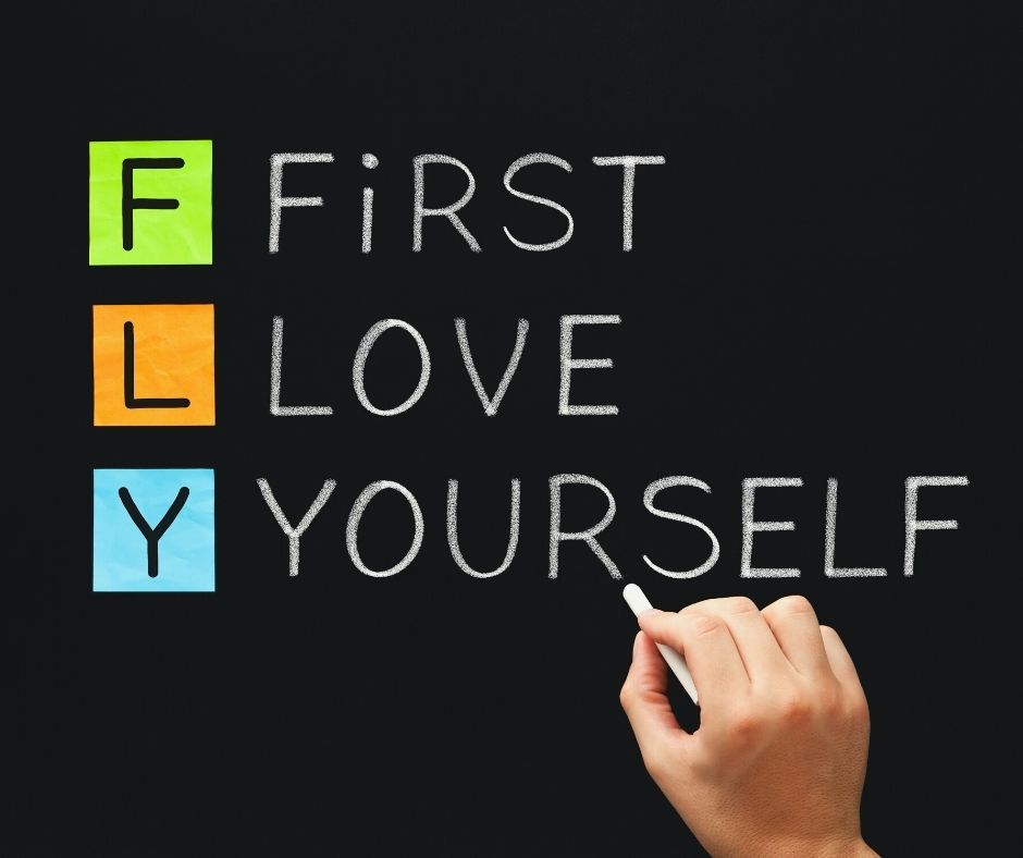 First, love yourself - Amazing Selfie quotes