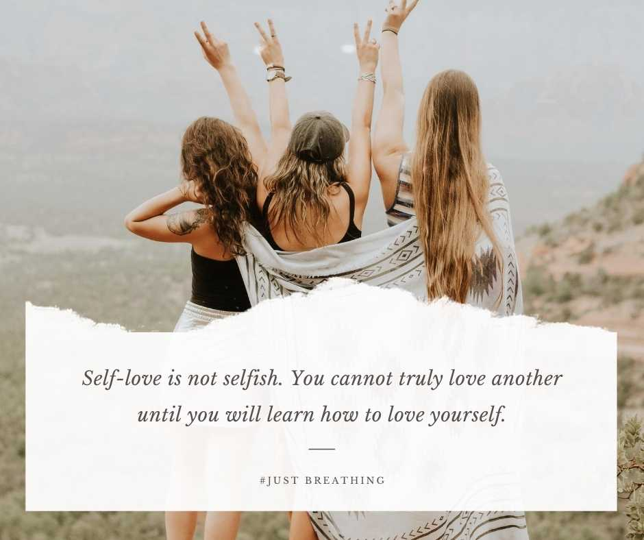 Self-love is not selfish. You cannot truly love another until you will learn how to love yourself. - Selfie quotes and captions