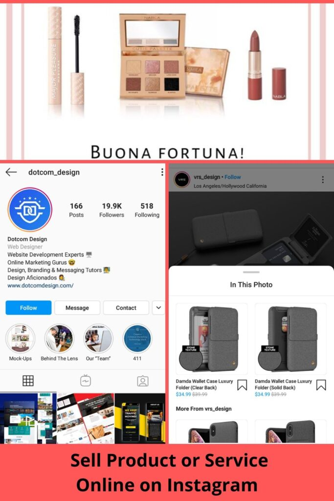 Sell Product or service Online With Instagram Earn Instagram Money with 0 followings!