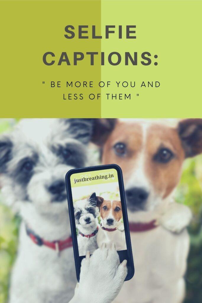 best short Selfie Captions for Instagram, Facebook, Tumblr and Tiktok