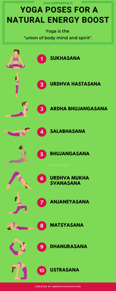 Practice these 10 yoga poses for a natural energy boost - justbreathing.in