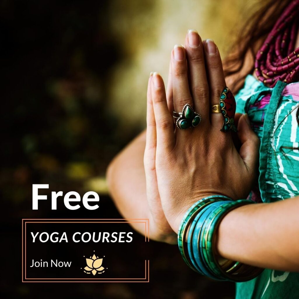 free yoga course - One more step to a wonderful happier life!