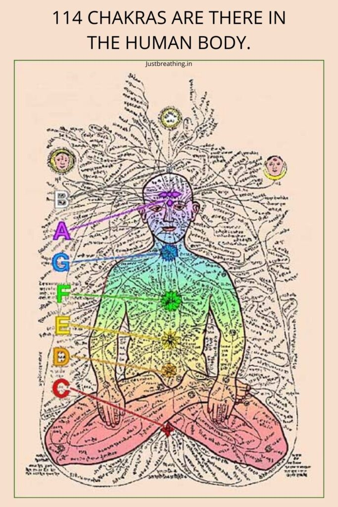114 Chakras are there in the human body. how long does it take to unblock chakras