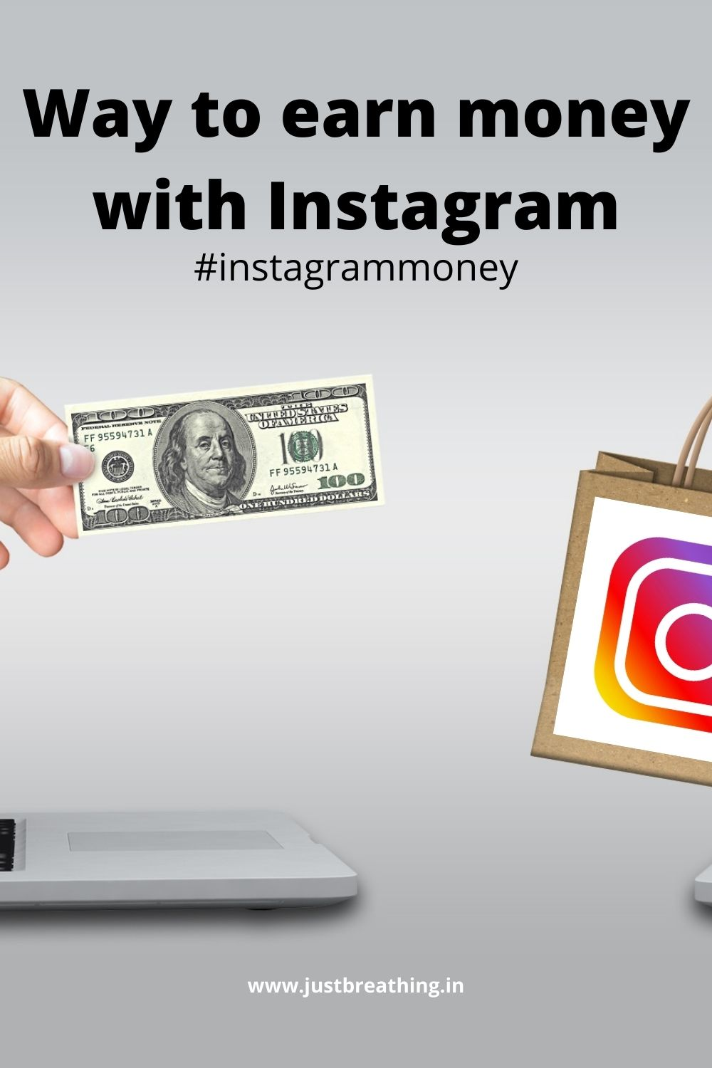 Ideas to make money with Instagram #instagrammoney Way to earn money with Instagram
