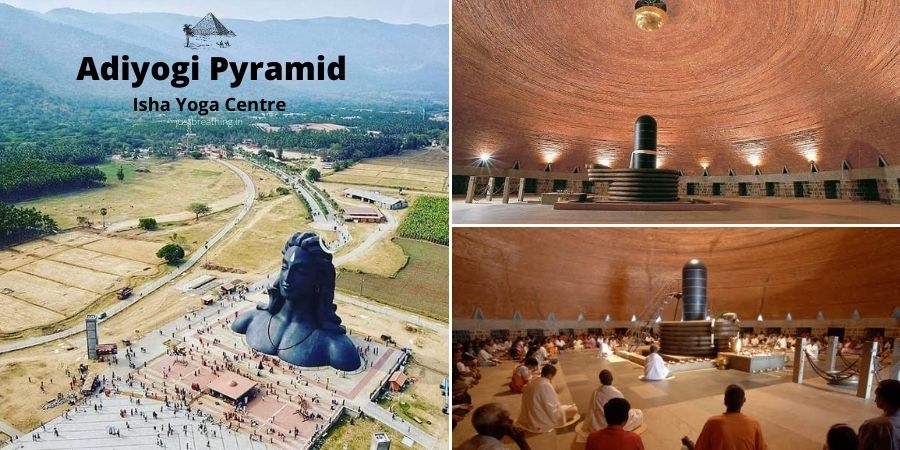 Isha Foundation - Adiyogi pyramid - Isha Yoga Centre and meditation center Shahi Shiksha Kaksha - sadguru