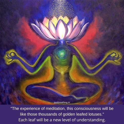 Nirvana - how to reach nirvana - what is nirvana - golden lotus flower meditation unblock third eye chakra