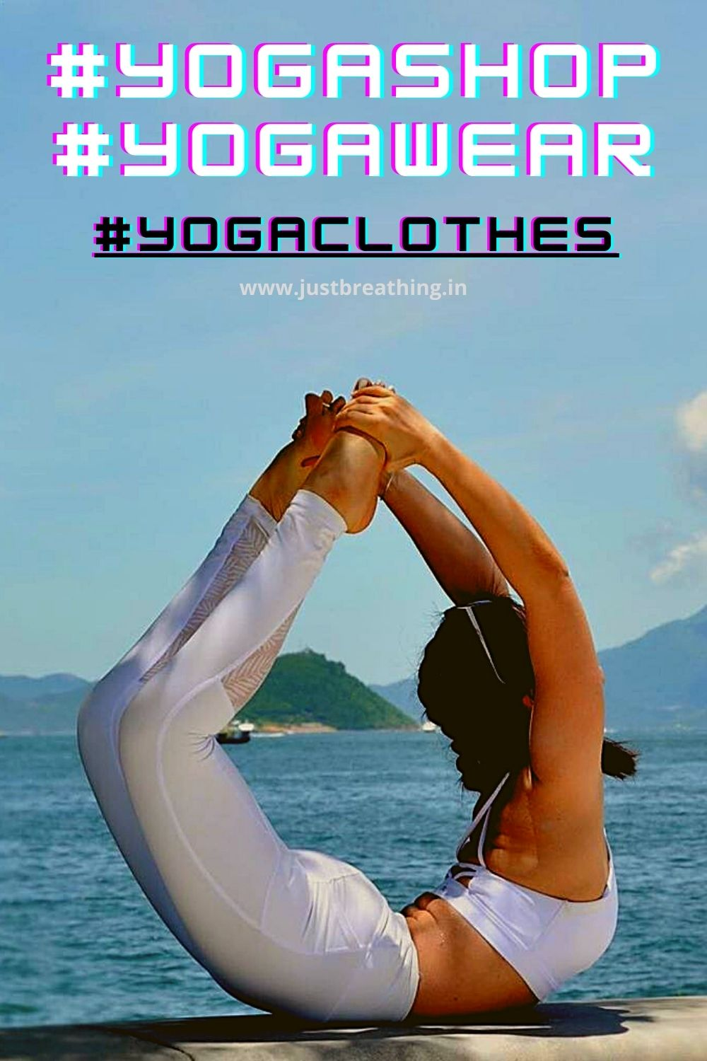 Best hashtags of yoga shop and yoga clothes - yoga ware hashtags for yoga Instagram business.