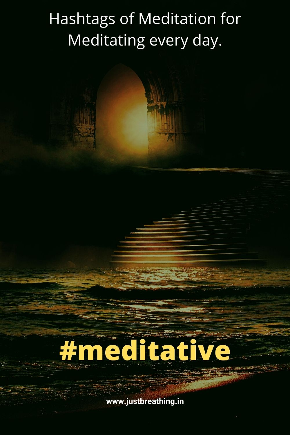 Best meditative hashtags for Instagram Hashtags of meditation for meditating every day.